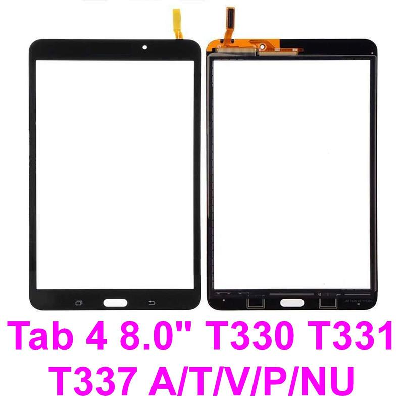 "Samsung Galaxy Tab 4 SM-T337V 8/"" Touch Screen Digitizer Glass Lens For White"