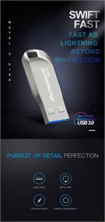 High Speed USB Flash Drive  Metal Pen drive 32GB USB  3.0 Memory Stick (# M-30)