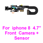 "For iPhone 8 , 4.7"" Inch Front Facing Camera Module Proximity Light Sensor Flex Cable"