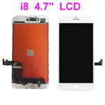 "For iPhone 8 , 4.7"" Inch Display Screen LCD + Digitizer Assembly  * White"