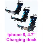 "iPhone 8  4.7"" Inch Charging Charger charge Dock port Socket Plug Lightning Connector flex Cable"